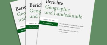 """Die """"Berichte. Geographie und Landeskunde"""" sind umgezogen!"""